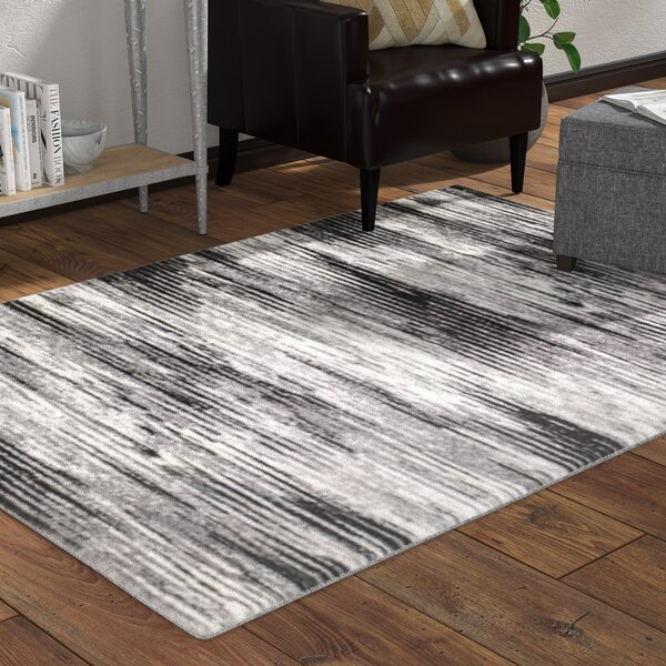 Shawn Gray Area Rug by Williston Forge