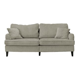 """Carlisle 78"""" Sofa with Pleated Arms by Serta at Home SKU:DE967517 Information"""