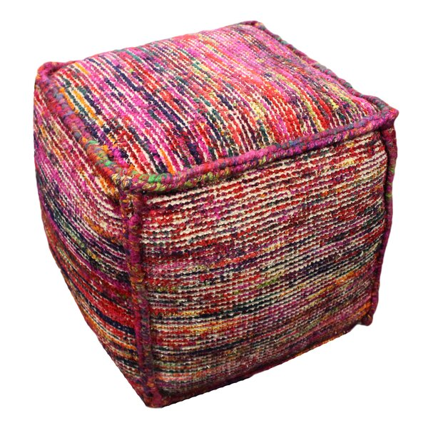 Perea Cube Ottoman by World Menagerie
