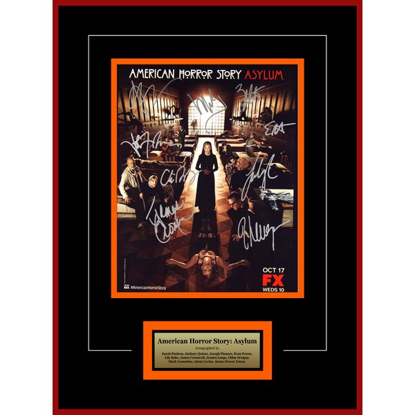 American Horror Story Framed Autographed Artist Series by LuxeWest