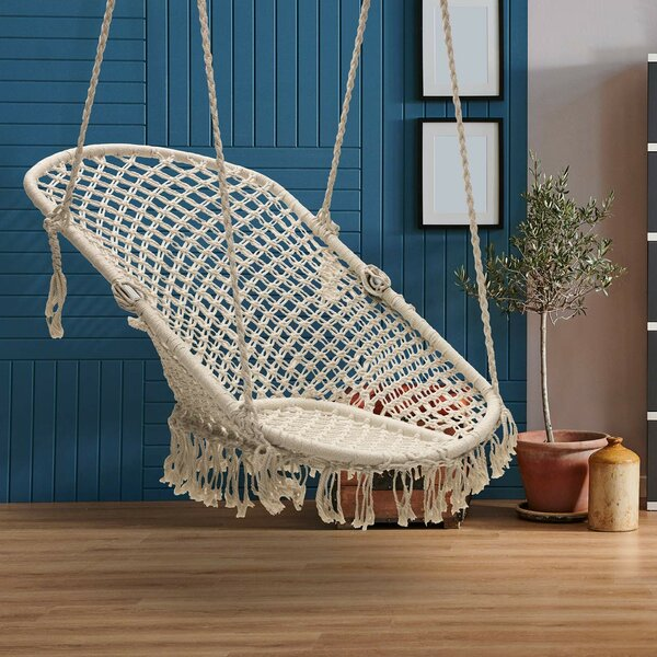 Mathilde Hammock Chair by Bungalow Rose Bungalow Rose
