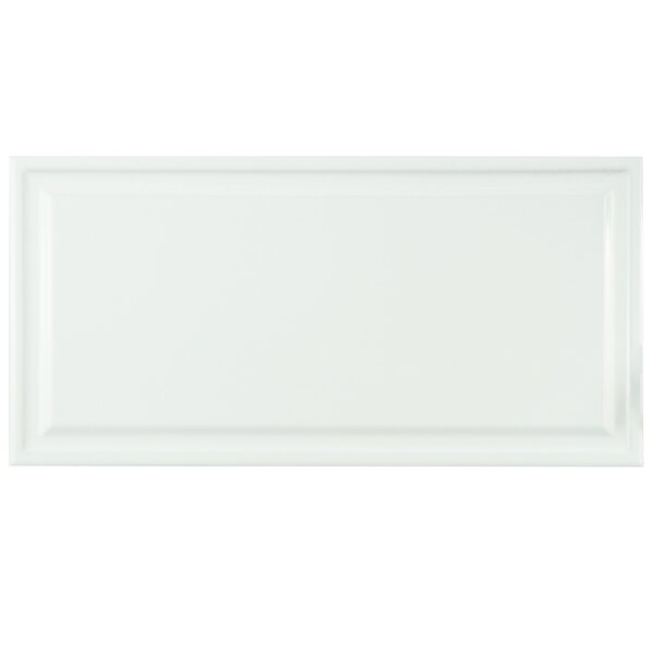 Linio 6 x 12 Ceramic Field Tile in White by EliteTile