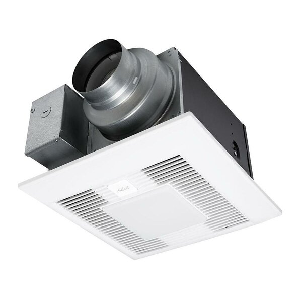 WhisperGreen Select™ Energy Star Bathroom Fan with Light by Panasonic®