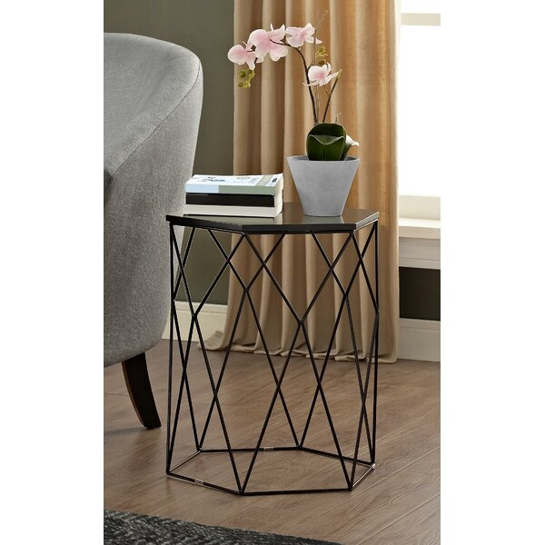 Element Geometric End Table by Elle Decor