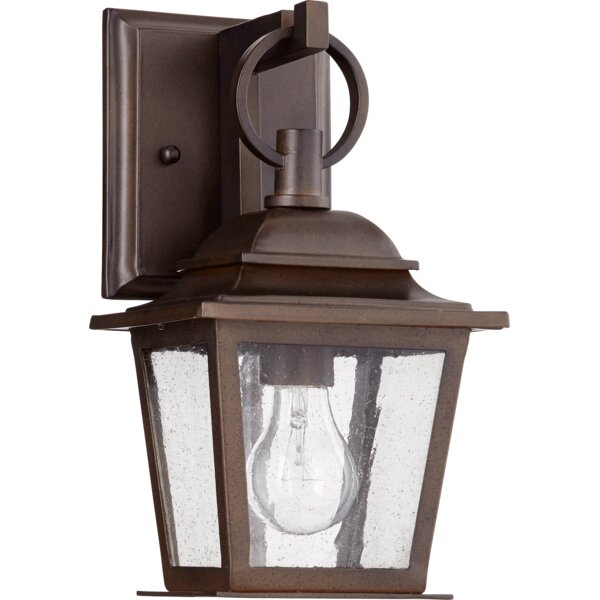 Bridport 1-Light Outdoor Wall Lantern by Canora Grey