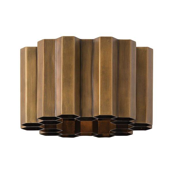 Zara 1-Light Flush Mount by ARTERIORS