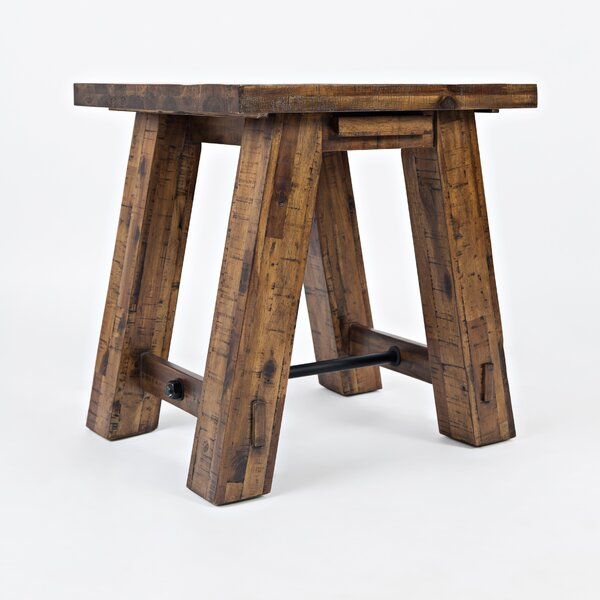 Oilton Valley End Table by Loon Peak