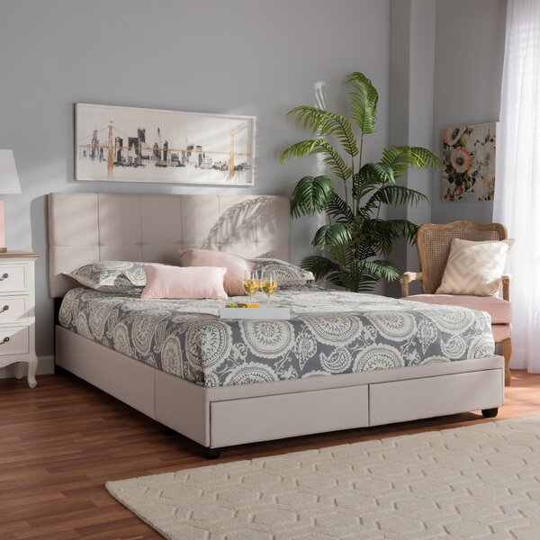 Lineberger Upholstered Storage Platform Bed by Latitude Run