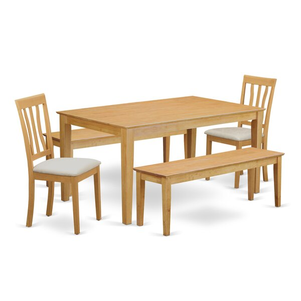 Alingtons 5 Piece Dining Set by Winston Porter Winston Porter