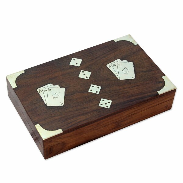 Box Card Complete Game Set by Novica