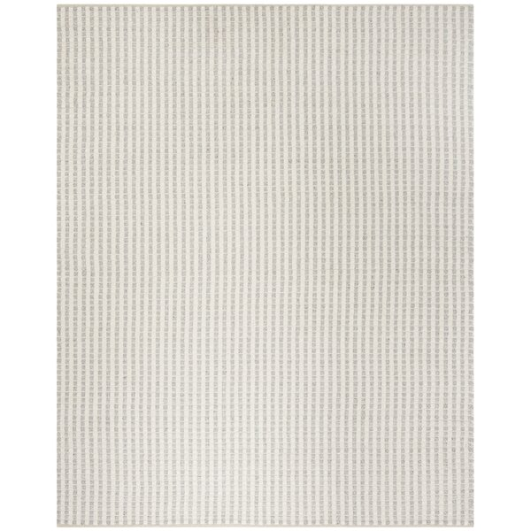 Billie Hand-Tufted Gray/Ivory Area Rug by Laurel Foundry Modern Farmhouse