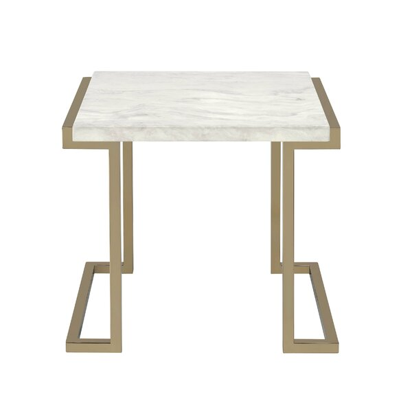 Leist End Table by Everly Quinn