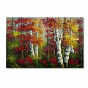 Indian Summer Painting Print on Wrapped Canvas by Andover Mills