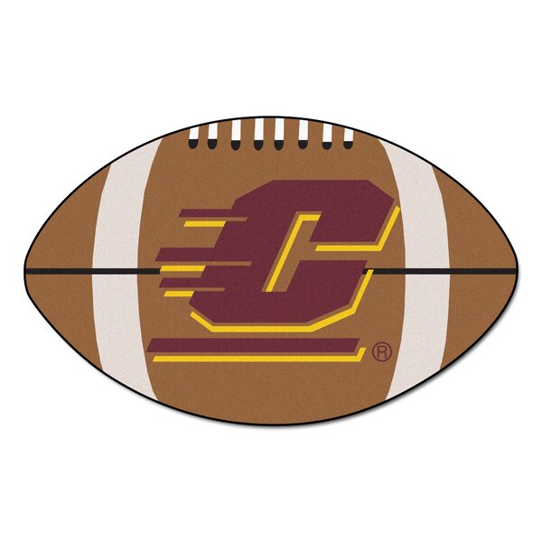 NCAA Central Michigan University Football Doormat by FANMATS
