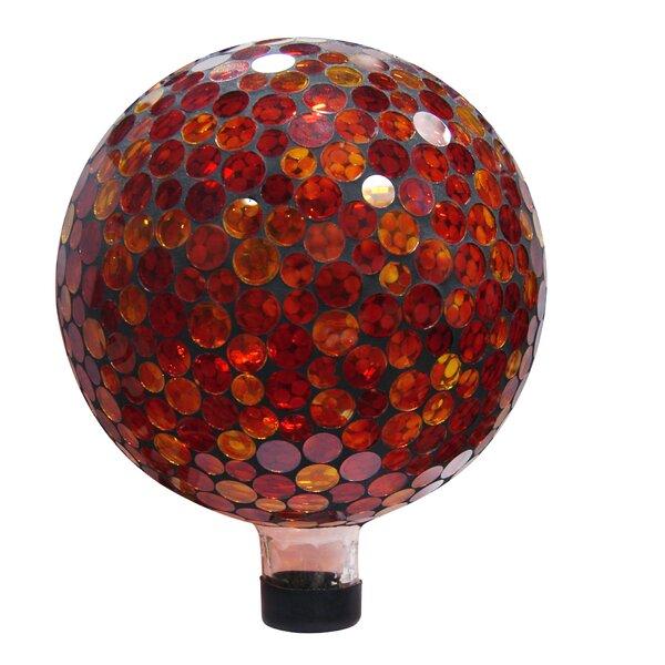 Mosaic Gazing Globe by Woodland Imports