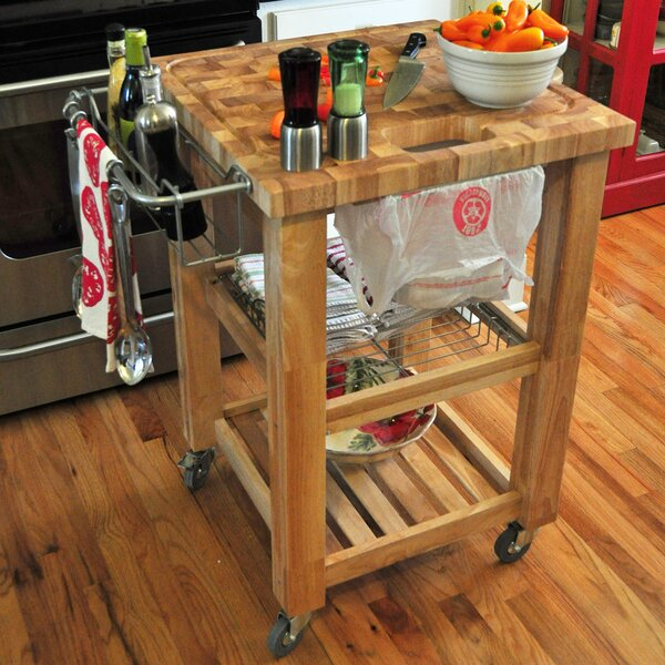 Sydney Kitchen Cart by Ebern Designs