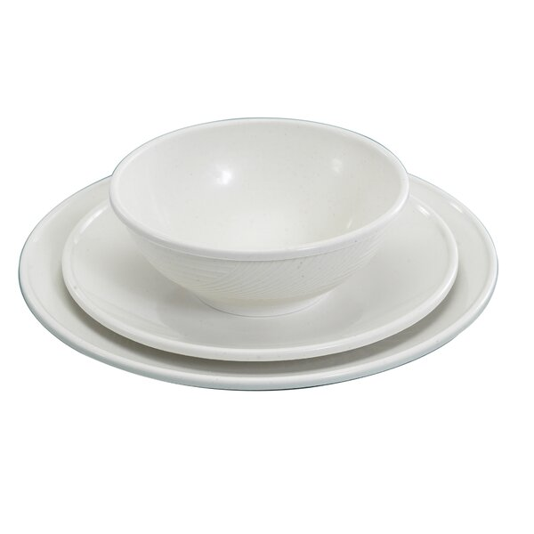 Microwave 3 Piece Place Setting, Service for 1 by Nordic Ware