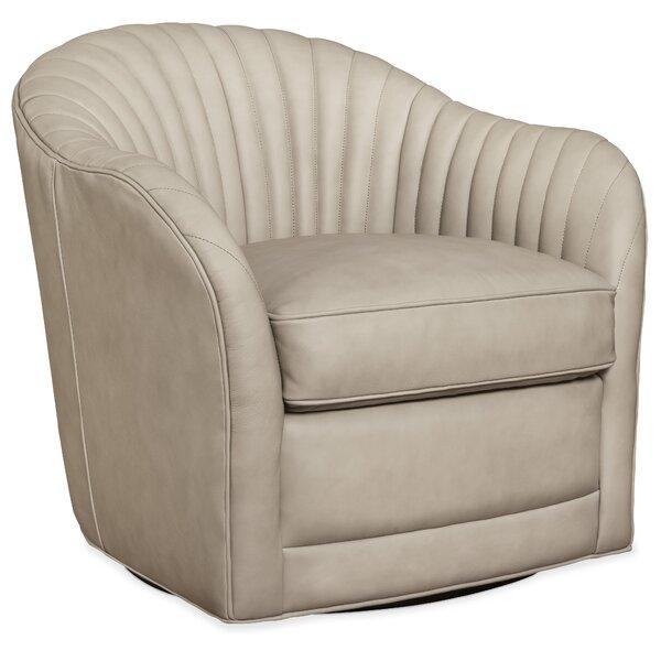 Saona Swivel Barrel Chair By Orren Ellis