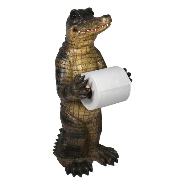 Alligator Freestanding Toilet Paper Holder