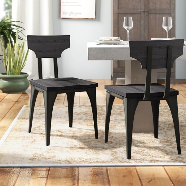 Mariana Solid Wood Dining Chair (Set of 2) by Trent Austin Design