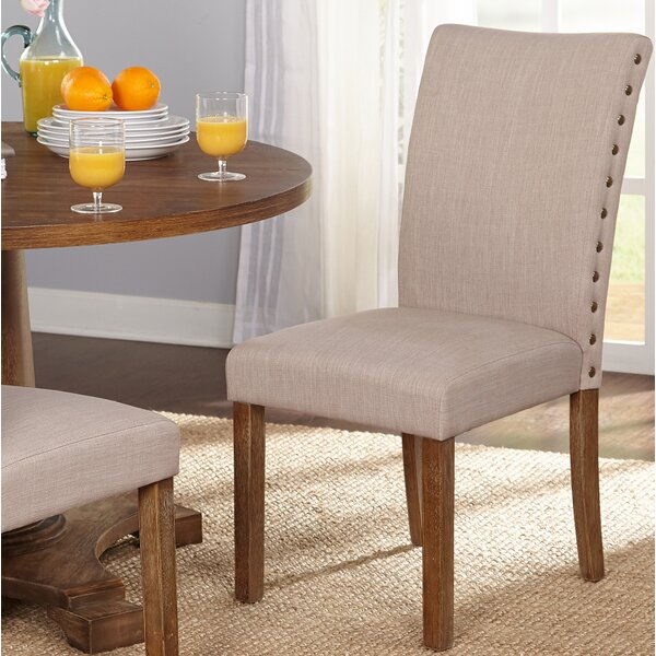 Whitmore Upholstered Dining Chair (Set of 2) by Ophelia & Co.