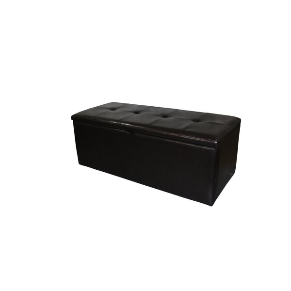 Shoe Leather Storage Bench by ORE Furniture