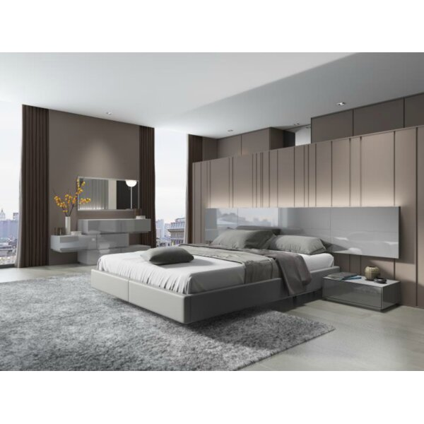 Makayla Platform 4 Piece Bedroom Set by Orren Ellis