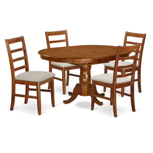 Lawanda 5 Piece Extendable Dining Set by Alcott Hill Alcott Hill