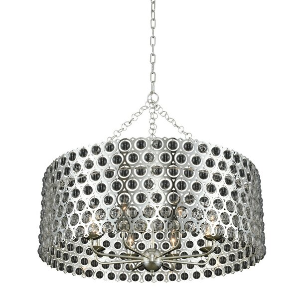 Annandale 8-Light Shaded Drum Chandelier By Brayden Studio