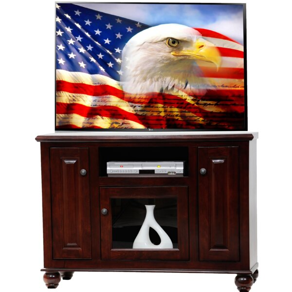Spoffo Solid Wood TV Stand For TVs Up To 50