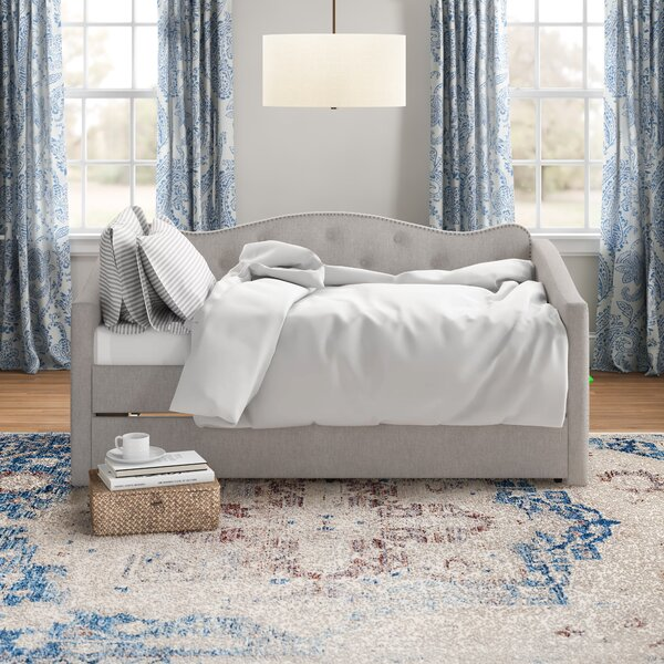Jorgenson Twin Daybed With Trundle By Three Posts