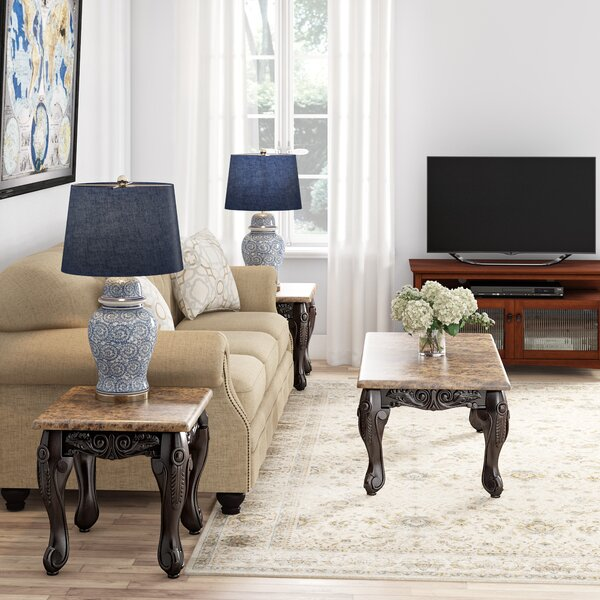 Albertus 3 Piece Coffee Table Set by Astoria Grand Astoria Grand