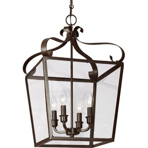 Weston 4-Light Foyer Pendant