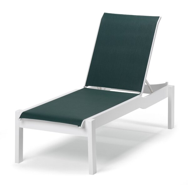 Leeward Reclining Chaise Lounge by Telescope Casual