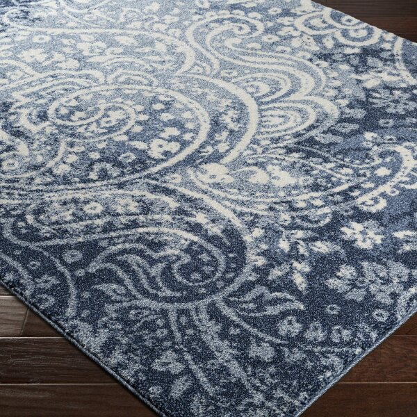 Brookside Blue Area Rug by Bungalow Rose