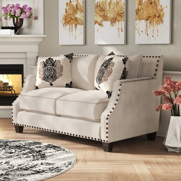 Shop For Stylishly Selected Myra Loveseat by Rosdorf Park by Rosdorf Park