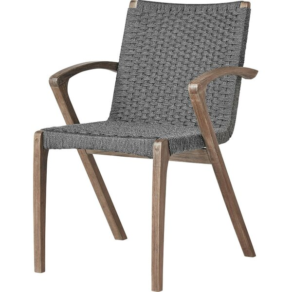 Hanes Patio Dining Chair (Set of 2) by George Oliver George Oliver