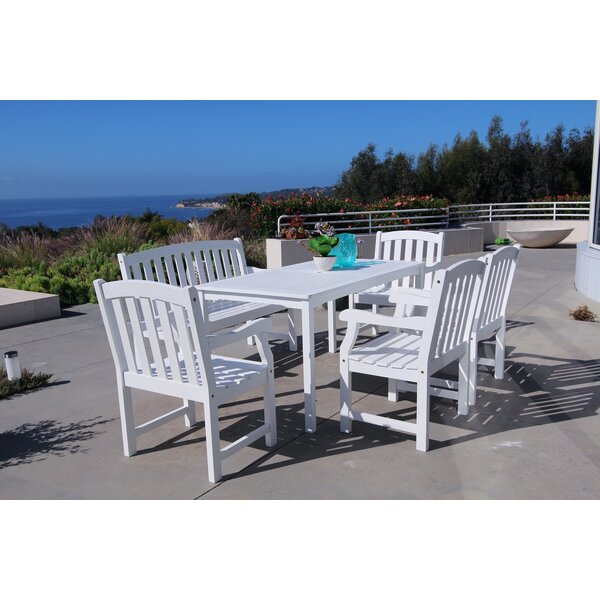 Shelbie 6 Piece Dining Set by Beachcrest Home