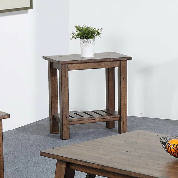 Rutledge End Table By Rosecliff Heights Coupon