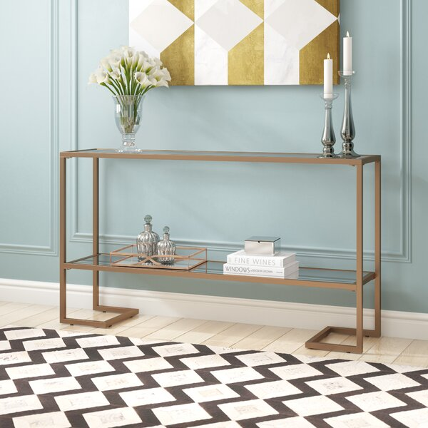 Jai Glam Narrow Console Table by Mercer41