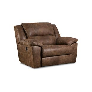 furniture bhg black brown chairs seat living oversize and leather madison oversized recliners room chair overstuffed com recliner single bonded shop classic