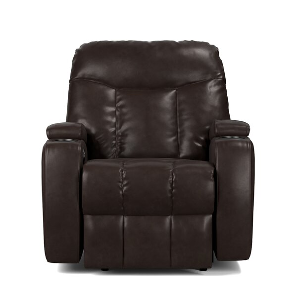 Toler Power Wall Hugger Storage Recliner by Red Barrel Studio