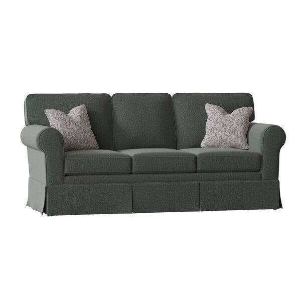 Kaylin Rolled Arm Skirted Sofa By Alcott Hill
