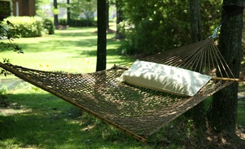Hamby Large Rope Cotton Tree Hammock by Highland Dunes