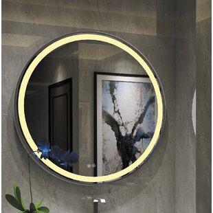 Read Reviews Bode Embedded LED Bathroom Mirror ByOrren Ellis