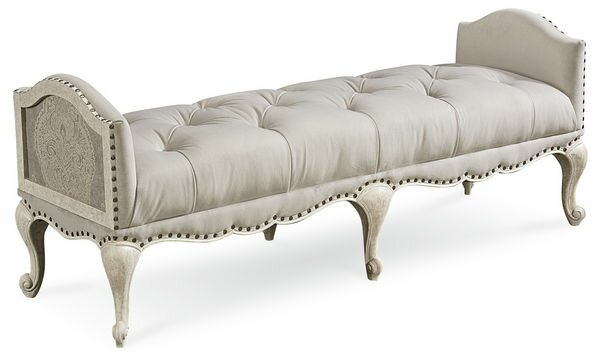 Carolin Upholstered Bench by One Allium Way