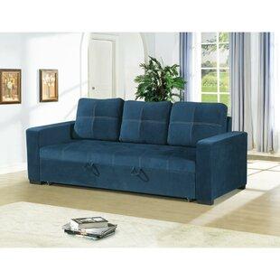 Lusher Polyfiber Fabric Convertible Sofa