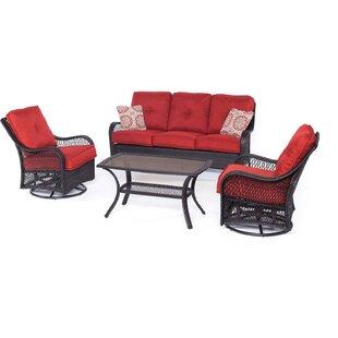 Red Patio Conversation Sets You Ll Love Wayfair