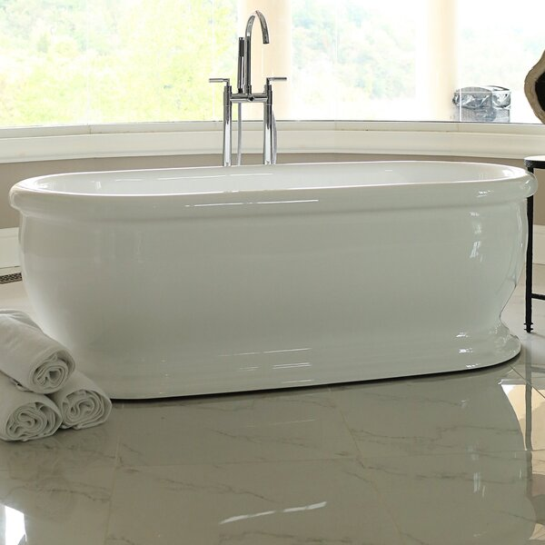69 x 31 Freestanding Soaking Bathtub by Signature Bath