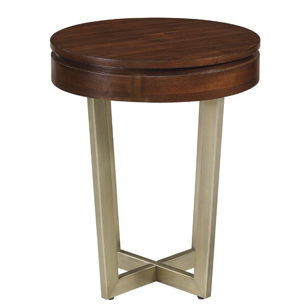 Figueroa Midnight End Table by Williston Forge